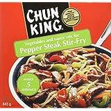 CHUN KING Vegetables & Sauce Mix for Pepper Steak Stir-Fry, 843 g