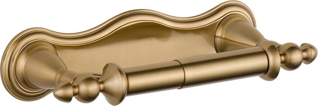 Delta Faucet 75050-CZ Victorian Pivoting Toilet Paper Holder, Champagne Bronze