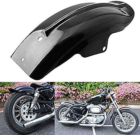 SALAKA Motorrad Fender 1PC Schwarz Kotfl/ügel Motorrad-Zubeh/ör Kunststoff hinten Motorrad Fender Kotfl/ügel