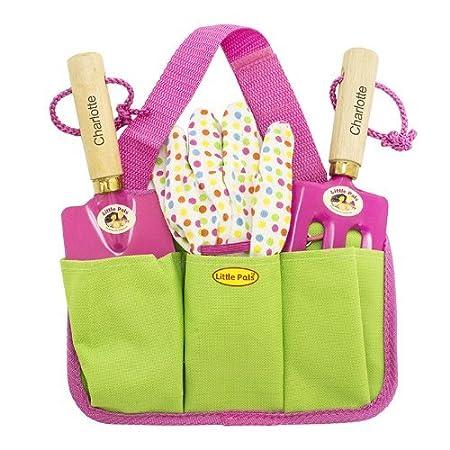 Perfect Personalised Pink Gardening Tool Kit Personalised Pink Gardening Tool Kit  For The Blue Set Please