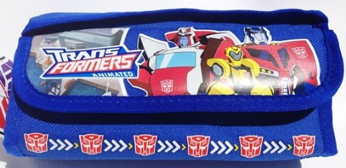 Transformers Pencil Case and Stationary Set (Blue)-gift Set for Boys