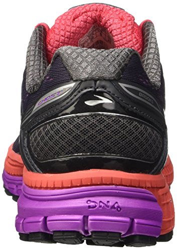 8 W Zapatillas Brooks Flower Running Anthracite Ghost para Mujer Cactus de Purple 7gqwwWZxF5