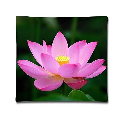 Amazoncom Bingzhao Lotus Flower Meaning Symbolism Square 18 X 18