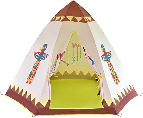 Juguete tienda canadiense Juegos de interior y al aire libre Niños tienda del juego Tienda grande tienda de los indios for los niños del niño Aventura para actividades interiores y exteriores: Amazon.es: