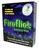 Firefly Magic Solar AND Battery-Operated Firefly Lights (Lightning Bug Lights), Model FMS-14S2, Firefly Green (1 Set)