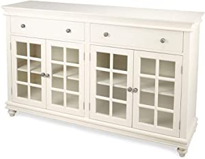 Butler Specialty Company Brouno White 70-Inch Rectangular Sideboard