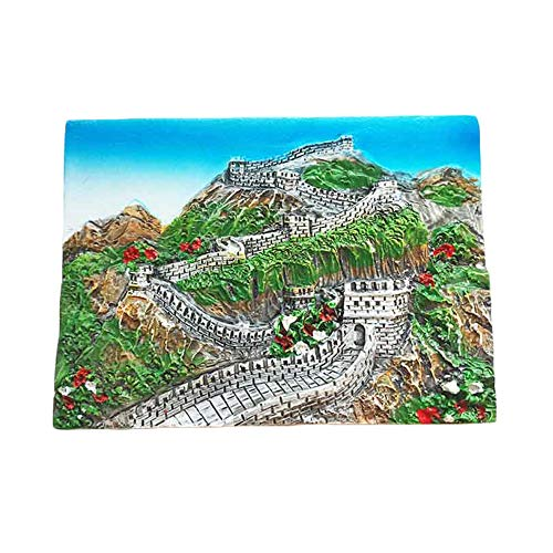 Great Wall BeiJing China 3D Refrigerator Magnet Travel Souvenir Sticker,Home Decoration Great Wall Beijing Fridge Magnet from China