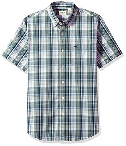 Plaid Button Front Shirt - 8