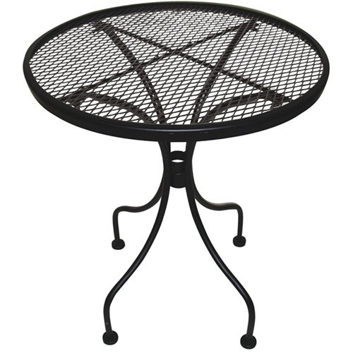 Amazon.com : DC America WIT118 Charleston Wrought Iron End Table : Patio  Tables : Patio, Lawn & Garden - Amazon.com : DC America WIT118 Charleston Wrought Iron End Table