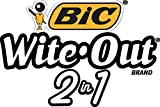 BIC 15ml Bottle Wite-Out 2 in 1 Correction Fluid