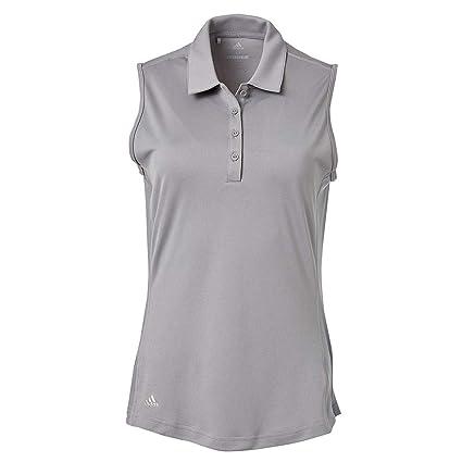 753c7619 Amazon.com : adidas Women's Advantage Sleeveless Golf Polo : Sports ...