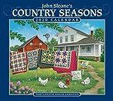 John Sloane s Country Seasons 2020 Deluxe Wall Calendar