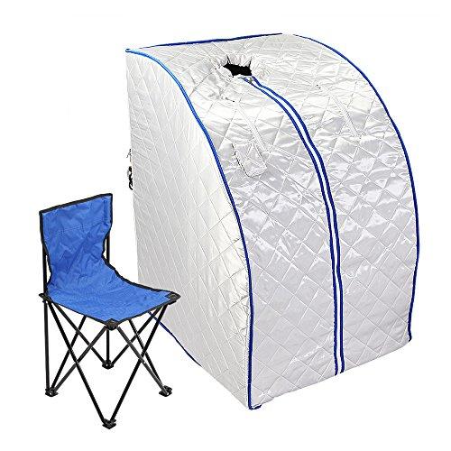 FurMune Sauna Portable Faltbare Wärmekabine Ferninfrarot Heimsauna Abspecken Zimmer Gewicht Verlieren Platzsparend