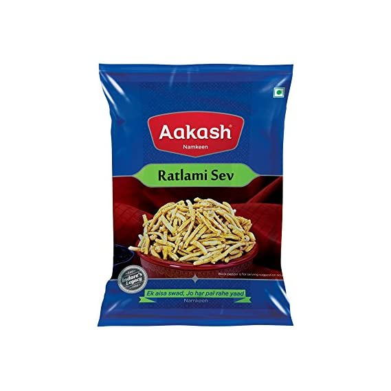 Aakash Namkeen Ratlami Sev,  350 g