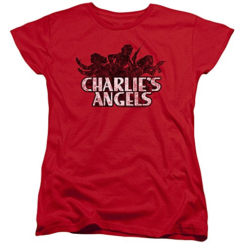 Charlies Angels Charlies Angels Vintage Logo Women's T Shirt