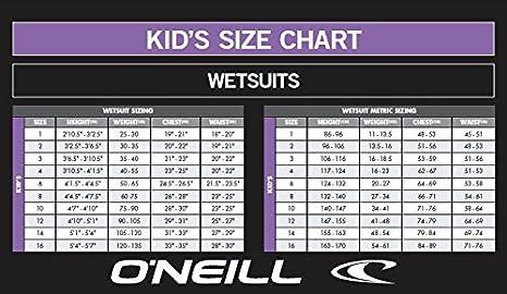 ONEILL WETSUITS Reactor Spring Traje de Neopreno Infantil