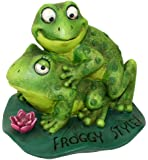 BigMouth Inc Froggy Style Garden Statue (Discontinued by Manufacturer)