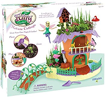 PlayMonster My Fairy Garden Nature Cottage Grow & Play Set