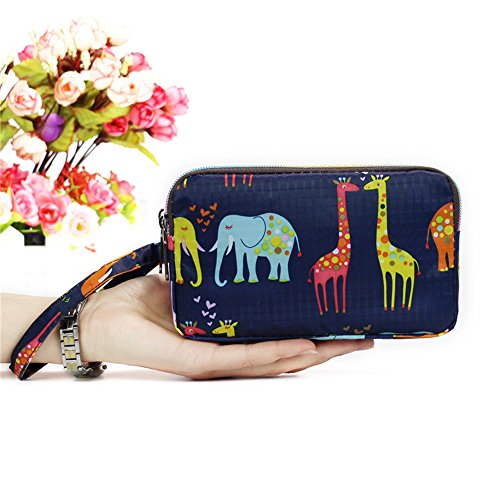 Grtdrm Waterproof Makeup Bag, Card Case Wallet/Coin Change Purse, Cellphone Pouch (Style 31) (Thirty One Coin Purse Wallet)