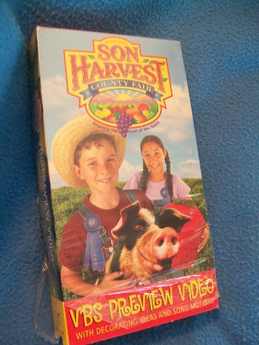 Son Harvest County Fair (Growing the Fruit of the Spirit) VBS Preview Video with Decorating Ideas and Song Motions [VHS]