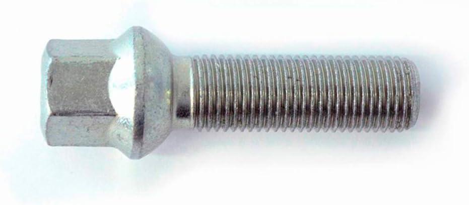 H R 1454303 Radschraube Kugelbund R13 M14x1 50 Länge 43mm Passend Für Z B Vag Auto