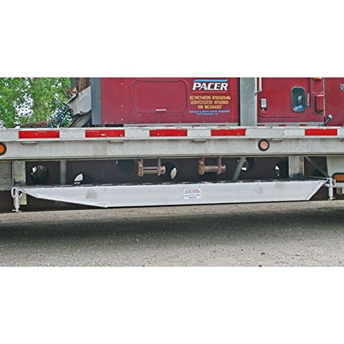 Semi-Trailer Loading Ramp Storage Brackets for One Ramp - 26'' Drop Decks, Bolt-On by Discount Ramps (Image #1)
