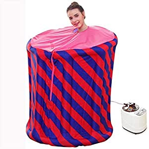 XMddzy Foldable Steam Sauna Portable Indoor Home Spa Weight Loss Detox with Remote