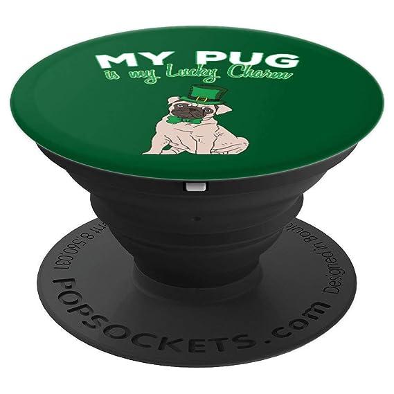 Amazon com: Pug St  Patricks Day Pugs Lucky Irish Dog Lovers