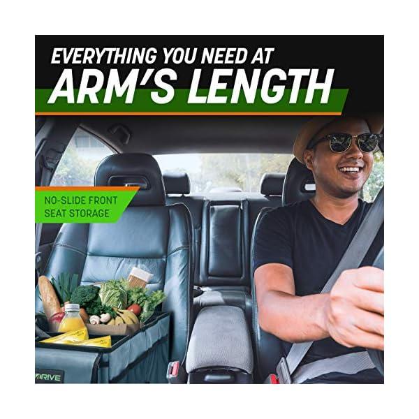 51RpFvF1fiL Drive Auto Products Kofferraum Organizer - Praktische Kofferraumtasche mit Fächern - Einkaufskorb, Aufbewahrungsbox für…