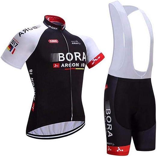 2019 Pro Cycling Kit Short Sleeve Jersey 9D Padded Gel Bib Shorts Set Giant
