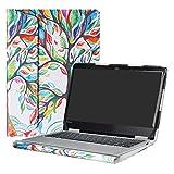 Alapmk Protective Case Cover for 12.5' Lenovo Yoga 720 12 720-12IKB Laptop(Not fit Yoga 730/Yoga 720 15/Yoga 720 13/Yoga 710/Yoga 700),Love Tree