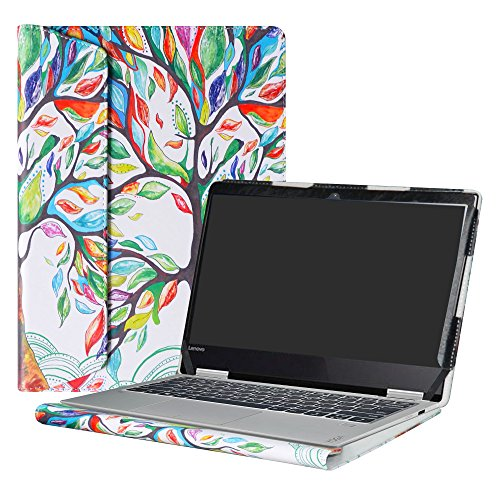 Alapmk Protective Case Cover for 12.5 Lenovo Yoga 720 12 720-12IKB Laptop(Not fit Yoga 730/Yoga 720 15/Yoga 720 13/Yoga 710/Yoga 700),Love Tree
