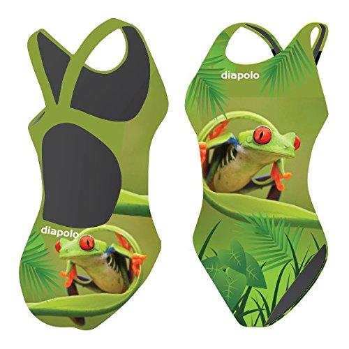 Diapolo Badeanzug Frosch Kollektion für Schwimmen Synchronschwimmen Wasserball Thriathlon