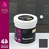 Peinture à tableau pour craie + aimanté, Érika couleur Noir - 250 ml