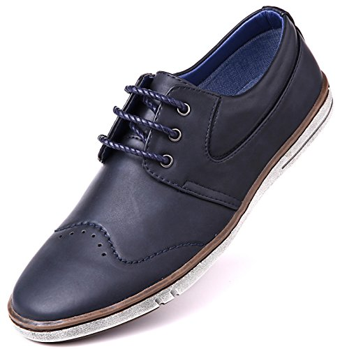 f3bc9f89609e Mio Marino Mens Dress Shoes - Fashion Casual Oxford Shoes Men