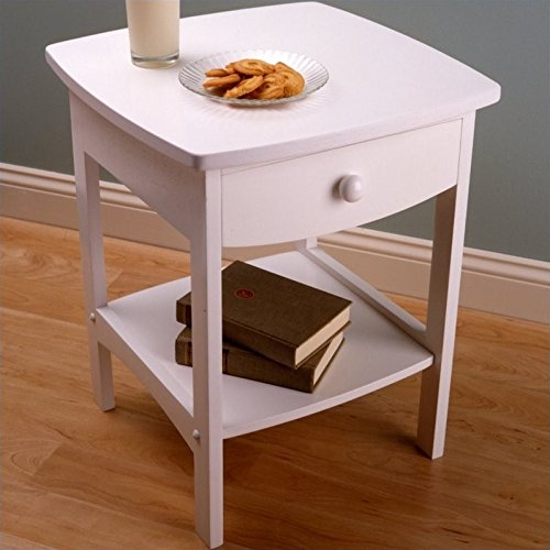 Traditional Walnut End Table - 4