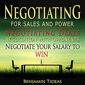 Negotiating for Sales and Power Audiobook