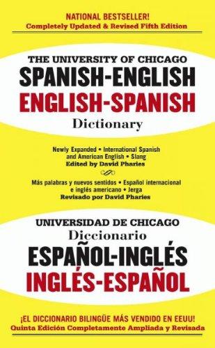 The University Of Chicago Spanish-English, English-Spanish