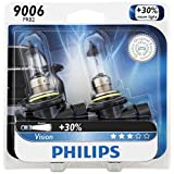 Philips 9006PRB2 Vision Headlight Bulb, (Pack of 2)