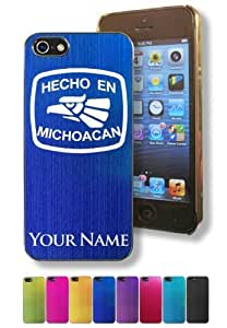Apple Iphone 5/5S Case/Cover - HECHO EN MICHOACAN - Personalized for FREE (Click the CONTACT SELLER button after purchase and send a message with your case color and engraving request)