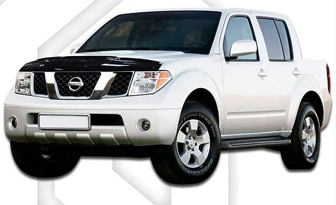 Scoutt Hdni505 Motorhaube Windabweiser Steinschlagschütz Für Nissan Navara 2011 15 Auto