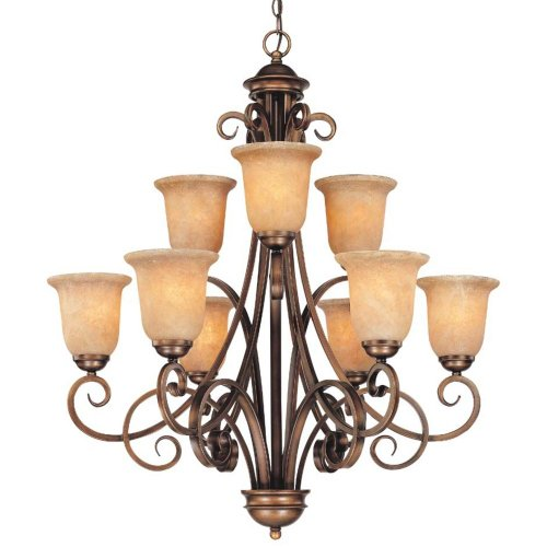dolan-designs-2092-133-medici-9-light-2-tier-chandelier-english-bronze
