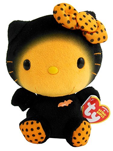 Hello Kitty Beanie Baby - Bat -