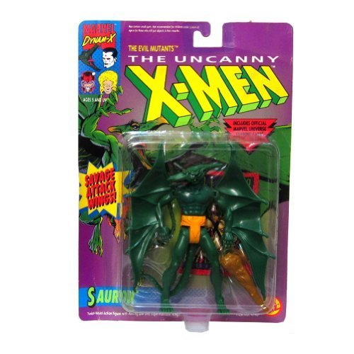 Toy Biz Marvel The Uncanny X-Men Sauron Action Figure, used for sale  Delivered anywhere in USA