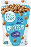 The new favorite crunch. Our chickpeas are so darn crispy, crunchy and flavor-packed that you might think they're junk food. Not to worry, one serving has as much protein as 23 almonds, as much fiber as 2 cups of broccoli and they're 100% free of nut...