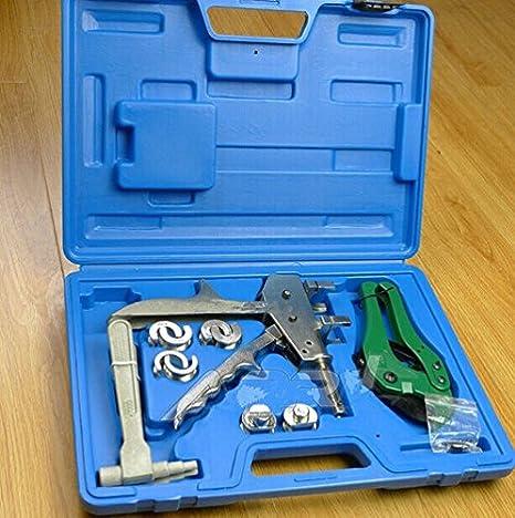 Tuberías Pex Gowe crimpadora herramienta para conectar accesorios y tubo de PVC 12-20MM Pex conexión herramientas: Amazon.es: Bricolaje y herramientas