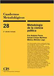 Metodología De La Ciencia Política, 2ª Ed: 28 (Cuadernos metodológicos)