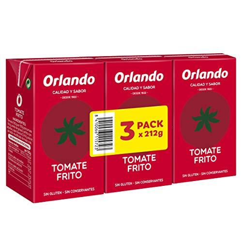 Orlando, Tomate Frito Tomatenpuree, In brik, 3 x 212 g