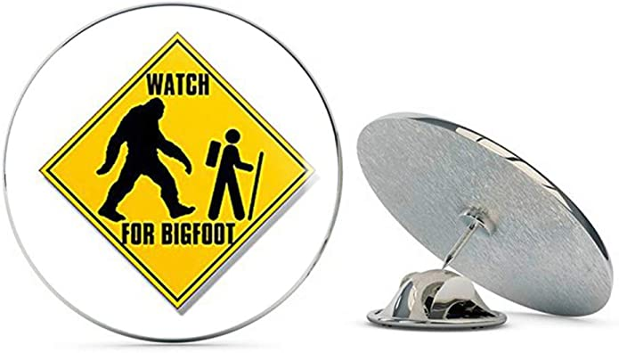 Metal Pins Circular Badge Holder Clothing Decoration Gift Multi Pack Sasquatch Round Badge