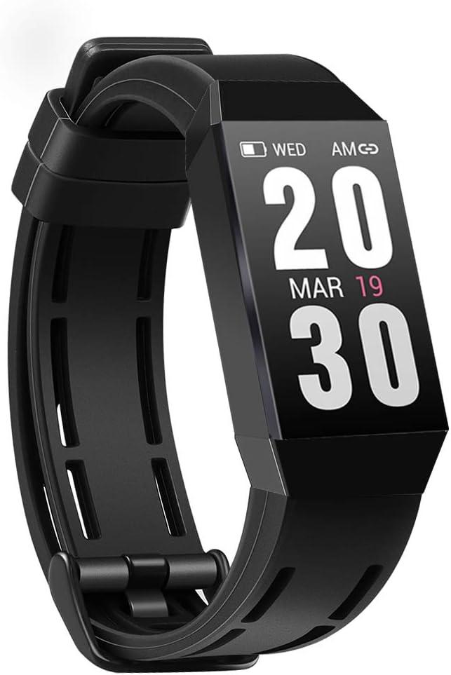 AUPALLA Pulsera Actividad Fitness Tracker, Impermeable Reloj Inteligente con Pulsómetro, Podómetro, Monitor de Sueño, Calorías, Pulsera Deportiva Smartwatch para Mujer Hombre: Amazon.es: Deportes y aire libre